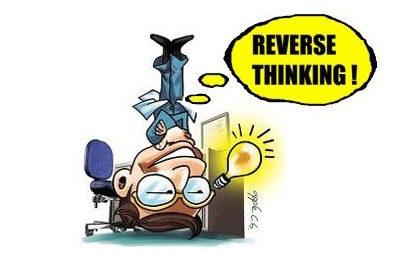 Communication innovante : Le reverse thinking ! Vous connaissez ?