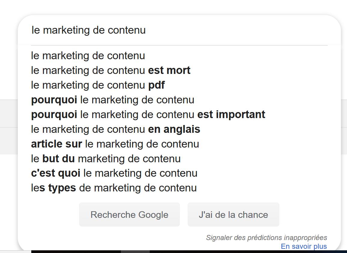 le marketing de contenu est mort