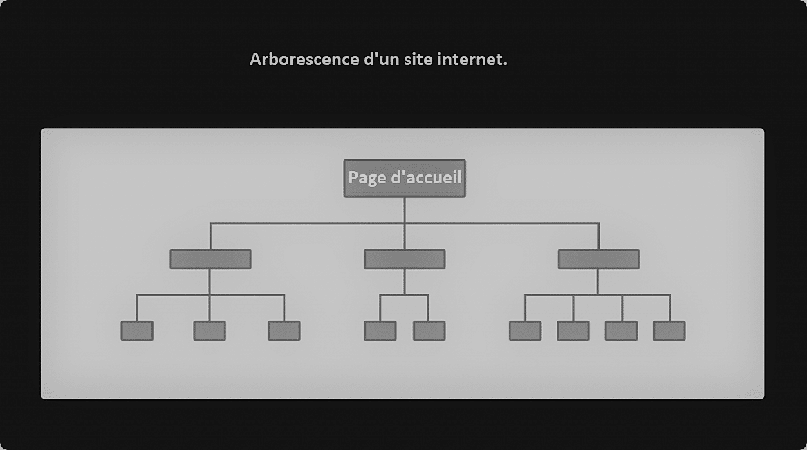 arborescence d'un site web