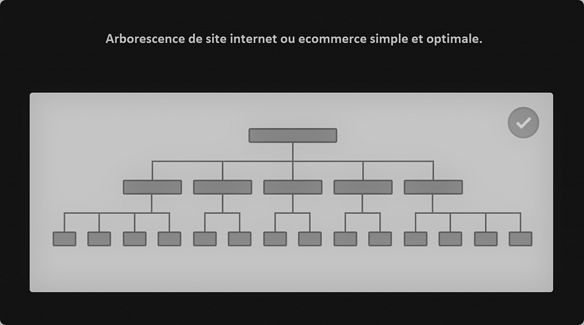 arborescence site internet simple et optmisée seo