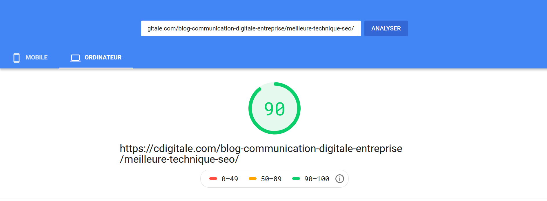 page-speed-test-cdigitale
