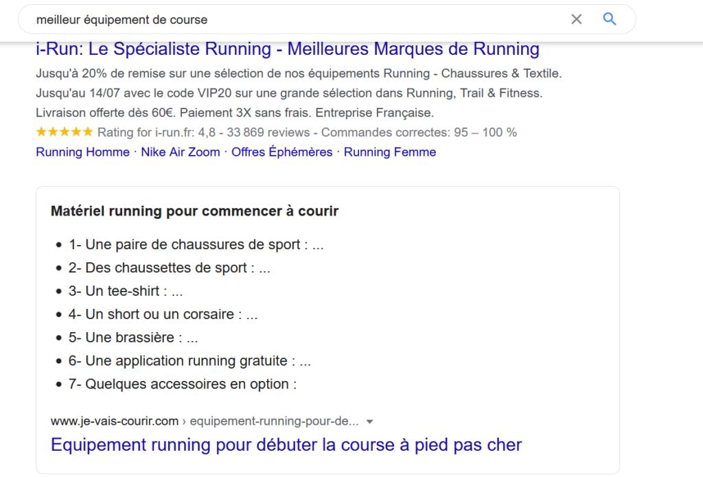 recherche de mots clés pour se positionner sur Google