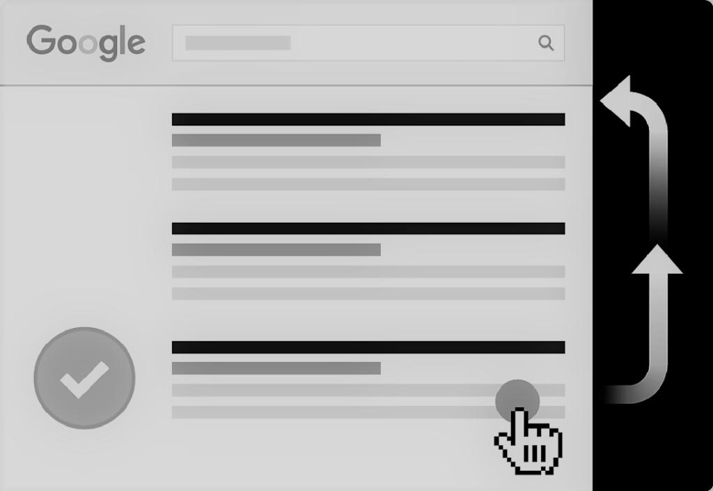 taux de clics plus elevé entraine un meilleur classement sur Google