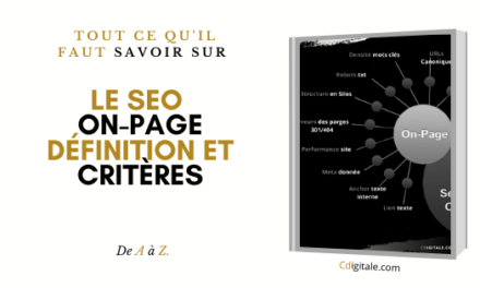 Comment optimiser son SEO ON PAGE en 9 étapes simples ?