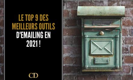 Le TOP 9 des meilleurs logiciels d'emailing en 2021 !