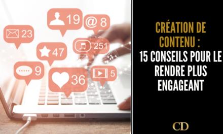Création de contenu  : écrire du contenu qui engage vos fans