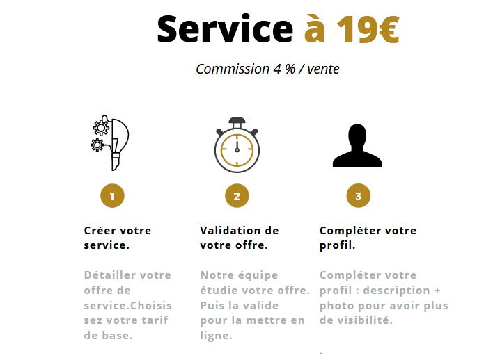 SERVICE 19€ cdigitale