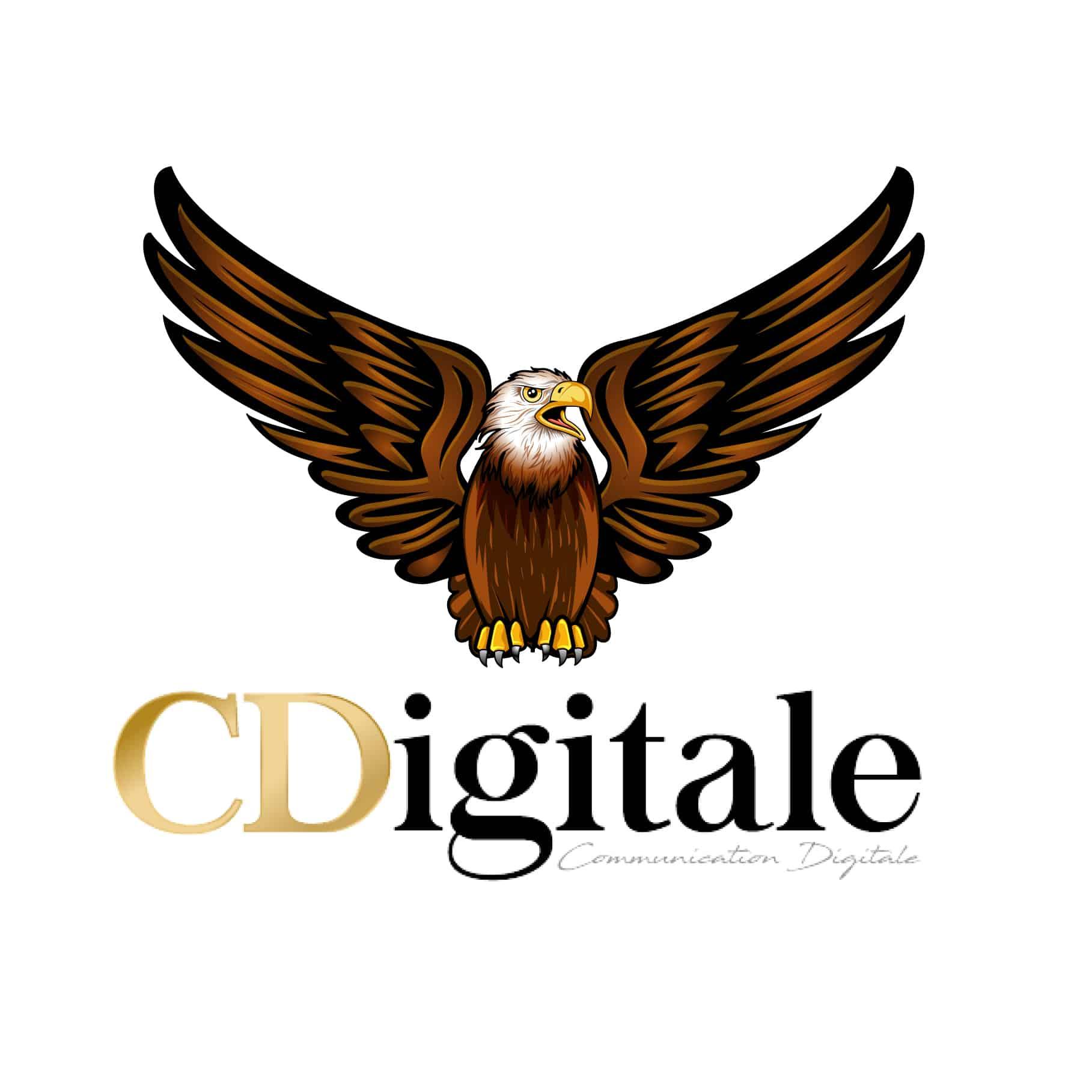 Création logo entreprise gratuit-fun-atypique CDigitaleⓇ